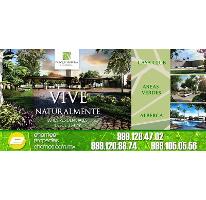 Foto de terreno habitacional en venta en  , cholul, mérida, yucatán, 2478464 No. 01