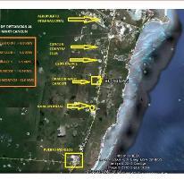 Foto de terreno habitacional en venta en carretera federal cancún - puerto morelos , puerto morelos, benito juárez, quintana roo, 3448996 No. 01