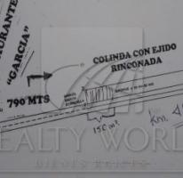 Foto de terreno habitacional en venta en carretera monterreysaltillo, rinconada, garcía, nuevo león, 803751 no 01