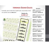 Foto de terreno habitacional en venta en  , caucel, mérida, yucatán, 2588135 No. 01