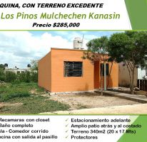 Foto de casa en venta en Mulchechen, Kanasín, Yucatán, 1831300,  no 01