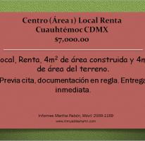 Foto de local en renta en, centro área 1, cuauhtémoc, df, 1096861 no 01