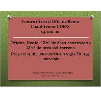Foto de oficina en renta en  , centro (área 1), cuauhtémoc, distrito federal, 1301985 No. 01
