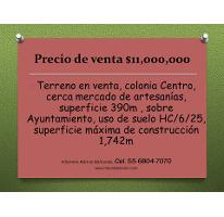 Foto de terreno comercial en venta en  , centro (área 1), cuauhtémoc, distrito federal, 1988834 No. 01