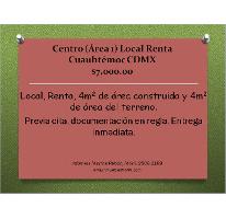 Foto de local en renta en  , centro (área 1), cuauhtémoc, distrito federal, 2617620 No. 01