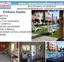 Foto de departamento en venta en  , centro, emiliano zapata, morelos, 3307905 No. 01