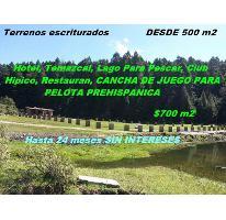 Foto de terreno habitacional en venta en, centro minero, pachuca de soto, hidalgo, 1542192 no 01