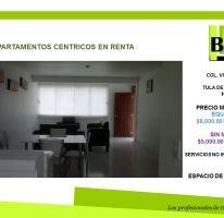 Foto de departamento en renta en, centro, tula de allende, hidalgo, 1477701 no 01