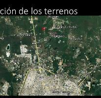Foto de terreno habitacional en venta en  , chablekal, mérida, yucatán, 2895779 No. 01