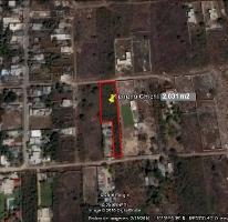 Foto de terreno habitacional en venta en  , chichi suárez, mérida, yucatán, 3137763 No. 01