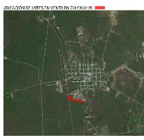 Foto de terreno habitacional en venta en  , chicxulub, chicxulub pueblo, yucatán, 1559000 No. 01