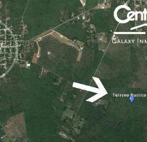 Foto de terreno habitacional en venta en  , chicxulub, chicxulub pueblo, yucatán, 3372465 No. 01