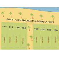 Foto de terreno habitacional en venta en  , chicxulub puerto, progreso, yucatán, 1162247 No. 01