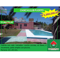 Foto de casa en venta en, chicxulub puerto, progreso, yucatán, 1418347 no 01