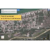Foto de terreno habitacional en venta en, chicxulub puerto, progreso, yucatán, 1860556 no 01