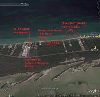 Foto de terreno habitacional en venta en  , chicxulub puerto, progreso, yucatán, 2314395 No. 01
