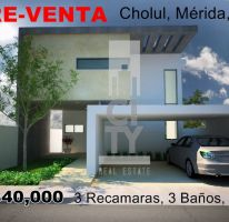 Foto de casa en venta en, cholul, mérida, yucatán, 2012503 no 01