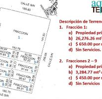 Foto de terreno habitacional en venta en  , cholul, mérida, yucatán, 2281940 No. 01