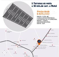 Foto de terreno habitacional en venta en  , cholul, mérida, yucatán, 2594701 No. 01