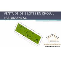 Foto de casa en venta en  , cholul, mérida, yucatán, 2597193 No. 01