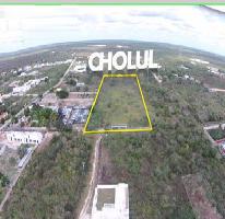 Foto de terreno habitacional en venta en  , cholul, mérida, yucatán, 2629107 No. 01