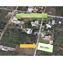 Foto de terreno habitacional en venta en  , cholul, mérida, yucatán, 2724715 No. 01
