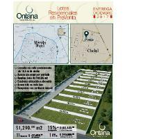 Foto de terreno habitacional en venta en  , cholul, mérida, yucatán, 2960034 No. 01