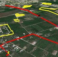 Foto de terreno habitacional en venta en  , cholul, mérida, yucatán, 3731032 No. 01