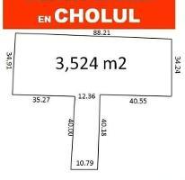 Foto de terreno habitacional en venta en  , cholul, mérida, yucatán, 4280815 No. 01