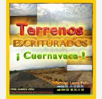 Foto de terreno habitacional en venta en , chulavista, cuernavaca, morelos, 2054124 no 01
