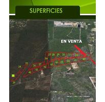 Foto de terreno comercial en venta en  , ciudad industrial, umán, yucatán, 2586456 No. 01