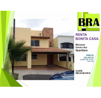 Foto de casa en renta en  , claustros del sur, querétaro, querétaro, 2306910 No. 01