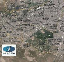 Foto de terreno habitacional en venta en  , club de golf la loma, san luis potosí, san luis potosí, 3707421 No. 01