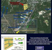 Foto de terreno habitacional en venta en conkal, conkal, conkal, yucatán, 1753830 no 01
