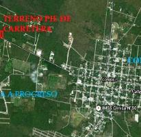 Foto de terreno habitacional en venta en, conkal, conkal, yucatán, 2255010 no 01