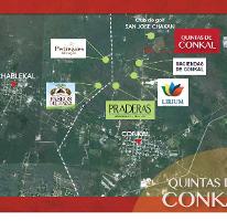 Foto de terreno habitacional en venta en  , conkal, conkal, yucatán, 2609993 No. 01
