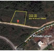 Foto de terreno habitacional en venta en  , conkal, conkal, yucatán, 2791626 No. 01