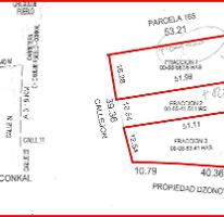 Foto de terreno habitacional en venta en  , conkal, conkal, yucatán, 3730770 No. 01
