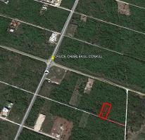 Foto de terreno habitacional en venta en  , conkal, conkal, yucatán, 4255970 No. 01