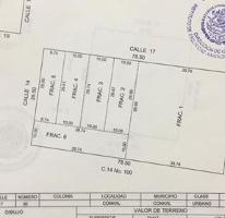 Foto de terreno habitacional en venta en  , conkal, conkal, yucatán, 4601967 No. 01