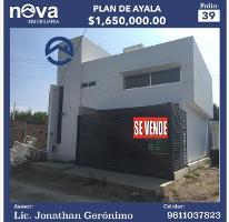 Foto de casa en venta en conocida 397, plan de ayala, tuxtla gutiérrez, chiapas, 3018886 No. 01