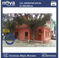 Foto de casa en venta en conocida 9, bienestar social, tuxtla gutiérrez, chiapas, 2220104 no 01