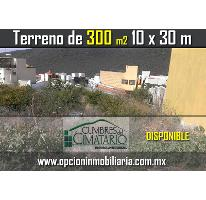 Foto de terreno habitacional en venta en  , cumbres del cimatario, huimilpan, querétaro, 2828394 No. 01