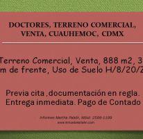 Foto de terreno comercial en venta en, doctores, cuauhtémoc, df, 2015528 no 01