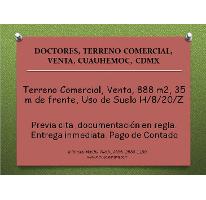 Foto de terreno comercial en venta en  , doctores, cuauhtémoc, distrito federal, 2015528 No. 01