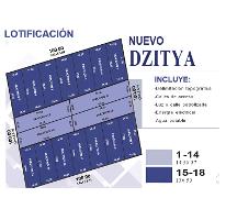 Foto de terreno habitacional en venta en  , dzitya, mérida, yucatán, 2837561 No. 01