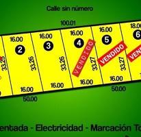Foto de terreno habitacional en venta en  , dzitya, mérida, yucatán, 2994482 No. 01