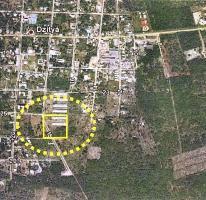 Foto de terreno habitacional en venta en  , dzitya, mérida, yucatán, 3636873 No. 01
