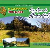 Foto de terreno habitacional en venta en Villa del Carbón, Villa del Carbón, México, 2469934,  no 01