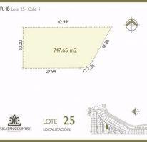 Foto de terreno habitacional en venta en, ejido de chuburna, mérida, yucatán, 2379938 no 01